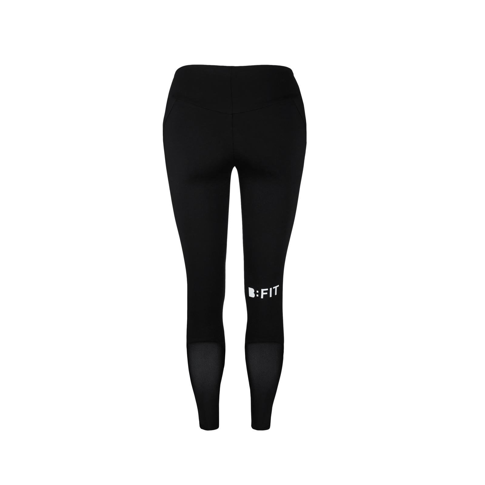3eea359c8969b9 B:FIT legginsy NILIT® Innergy push-up czarne - B:FIT